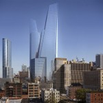 The office towers of Hudson Yards. (Courtesy KPF)