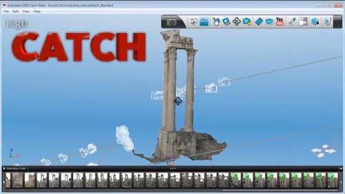 123D Catch preview. (Courtesy Autodesk)