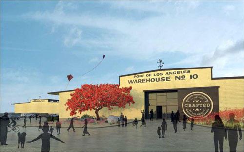 Rendering of Warehouse Number 10.
