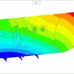 Finite element analysis for wind load (LEAPfactory)