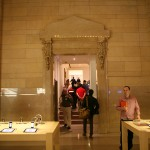 The entrance to the accessories room.