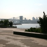 The new East River Waterfront Esplanade.