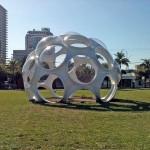 Buckminster Fuller's Fish-Eye Dome. (AN / Julie Iovine)