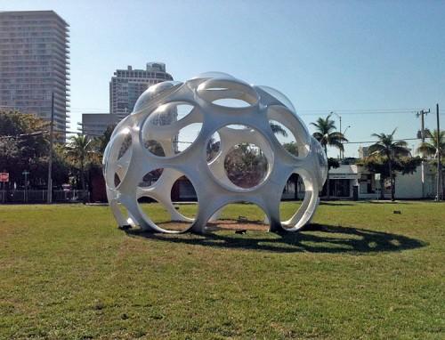 Buckminster Fuller's Fly's Eye Dome. (AN / Julie Iovine)