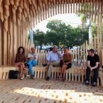 "David Adjaye's ""Genesis"" pavilion. (Courtesy Design Miami)"