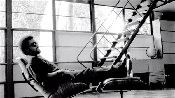 ice cube pays a visit to the eames house