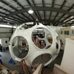 Goetz restored more than 50 fiberglass pieces from the 1970s prototype (Ian Garber)