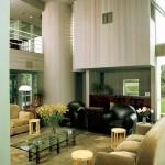 deMenil Residence, living area, 1983. (Norman McGrath)