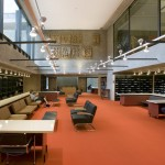 Yale Arts Complex, Rudolph Hall, restored Haas Library periodicals space, 2008. (Richard Barnes)