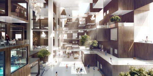 Interior of the Cloud (Courtesy MVRDV)