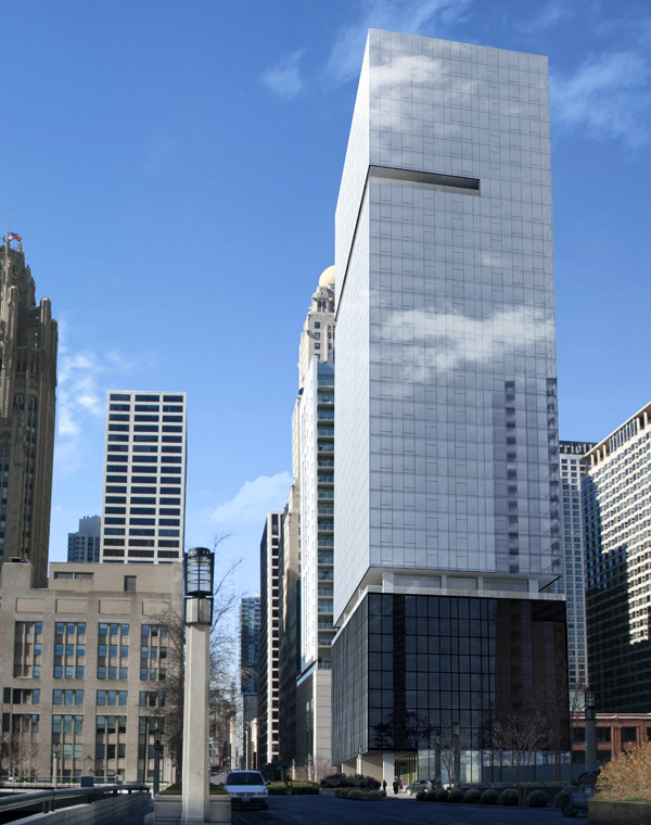 Unveiled Gt David Hovey S Streeterville Tower In Chicago