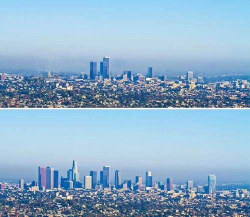 Curbed LA's map of what downtown LA would look like without the CRA (Dando Guerra)