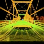 The 3-D laser scan allowed engineers to look at the bridge even after it was dismantled (O.N.E.)