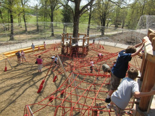 New playground at Shelby Farms (courtesy of JCFO)