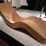 Recycled cork chaise lounge by Daniel Michalik.