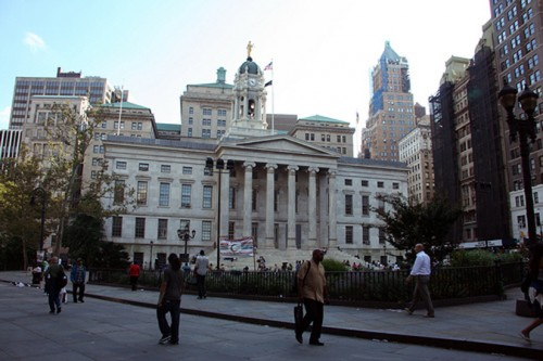 Brooklyn's borough hall sits at the heart of the new historic district.