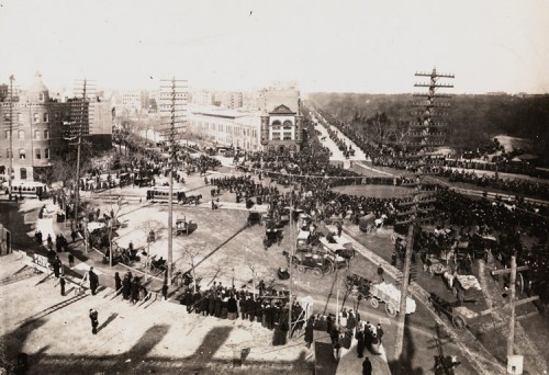 Columbus Circle in the late 19th century. (Courtesy MCNY)