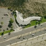 Aerial view of Ken Kellogg's restaurant in Rancho Mirage. (Bing Maps)