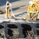 The aftermath of the fire. (Screenshot from MyDesert video)