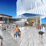 """The """"Kimball Cloud"""" by Brooks + Scarpa Architects."""