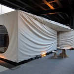 House of Waris Tearoom installation under the High Line. (Courtesy Christian Wassmann)
