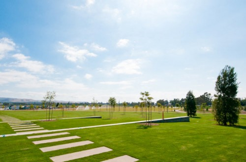 The North Lawn at the Orange County Great Park. (Courtesy Orange County Great Park)