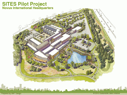 SITES Pilot Project (Courtesy of SWT Design)