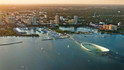Michael Maltzan's pier proposal.
