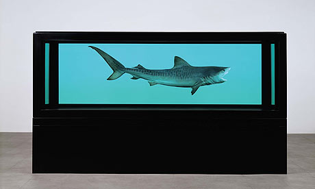 Hirst's The Physical Impossibility of Death in the Mind of Someone Living (Sotheby's/PA)