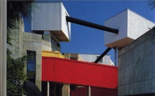 Detail of Johansan's Mummers Theather (aka Stage Center) in Oklahoma City. (Courtesy AIA Central Oklahoma).
