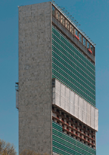 The retrofit at the United Nations.