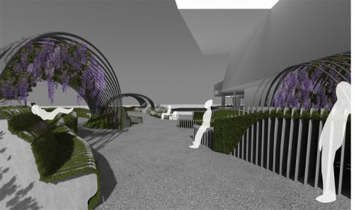 Rendering of Urban Movement Design's Unire/Unite, winning design of YAP MAXXI 2012. (Courtesy Urban Movement Design)