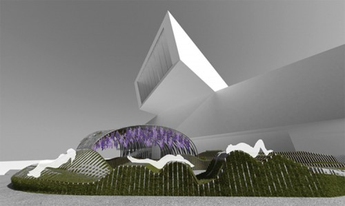 Rendering of Urban Movement Design's Unire/Unite, winning design of YAP MAXXI 2012. (Courtesy Urban Movement Design)