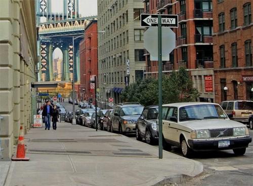 District Under the Manhattan Bridge Overpass. (D-W-/Flickr)