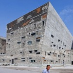 Wang Shu's Ningbo Historic Museum is one of the Chinese architect's works that explores tensions between traditional design and rapid urbanization. (Iwan Baan)
