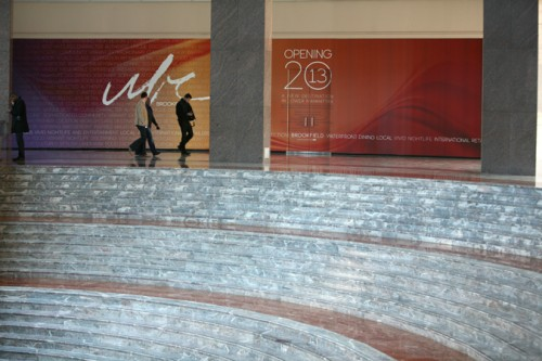 The Brookfield renovations of World Financial Center have begun.