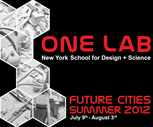 ONE Lab Summer Session 2012 on Future Cities. (Courtesy Terreform ONE)