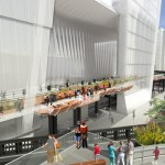 The 30th Street Passage will move through Hudson Yards Tower C and lead visitors toward the offshoot section of the High Line called the Tenth Avenue Spur.