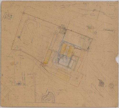 Palazzetto Site Plan. (Courtesy Cooper Union)