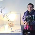 Third Place Winner Farnaz Hamedanchian. (Naomi Castillo)
