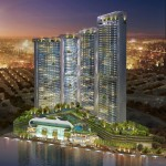 The First Four Acqua Towers. (Courtesy Century Properties)
