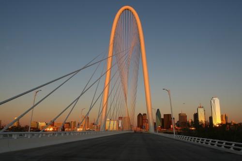 Dallas' Margaret Hunt Hill Bridge. (Dana Driensky)