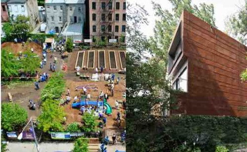 SCAPE and NMINUS1 at Cooper Union (image courtesy of The Architecture League)