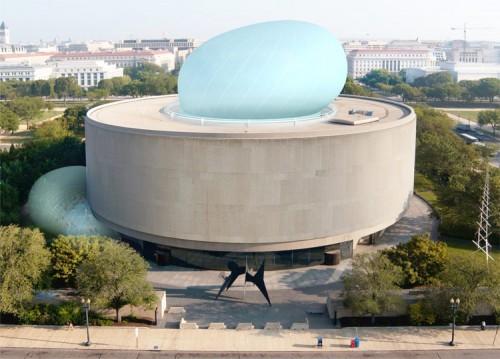 Hirshhorn Museum Seasonal Inflatable Pavilion, Diller Scofidio + Renfro and Kling Stubbins.