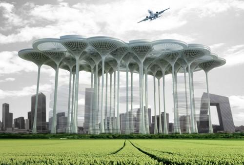 Airport Skyscraper; ZhiYong Hong , XueTing Zhang