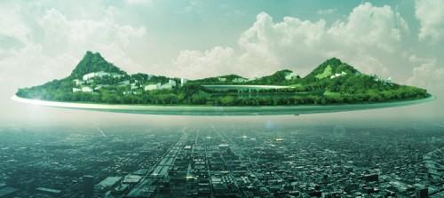 Floating City; Wei Zhao