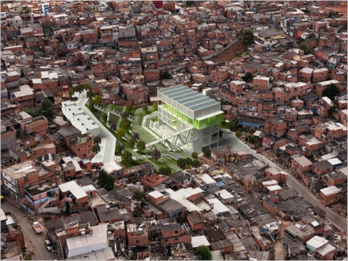 Urban Remediation and Civic Infrastructure Hub, São Paulo, Brazil