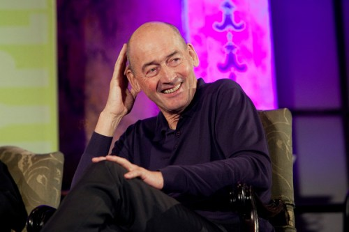 Rem Koolhaas at the New York Public Library. (Jori Klein)