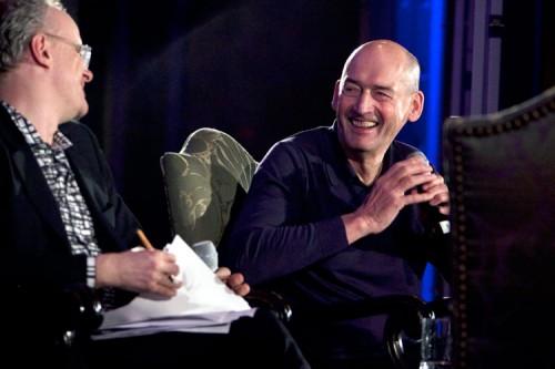 Ulrich Obrist and Rem Koolhaas. (Jori Klein)