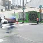 Shake Shack's future home at the corner of 20th and Sansom Streets (Shift_Design)